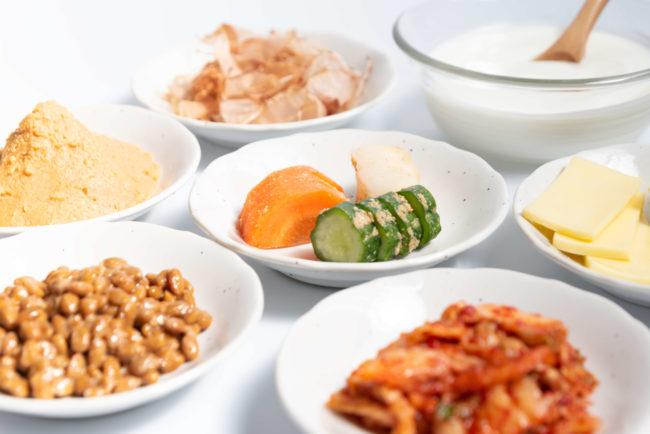 体内フローラサプリ発酵食品