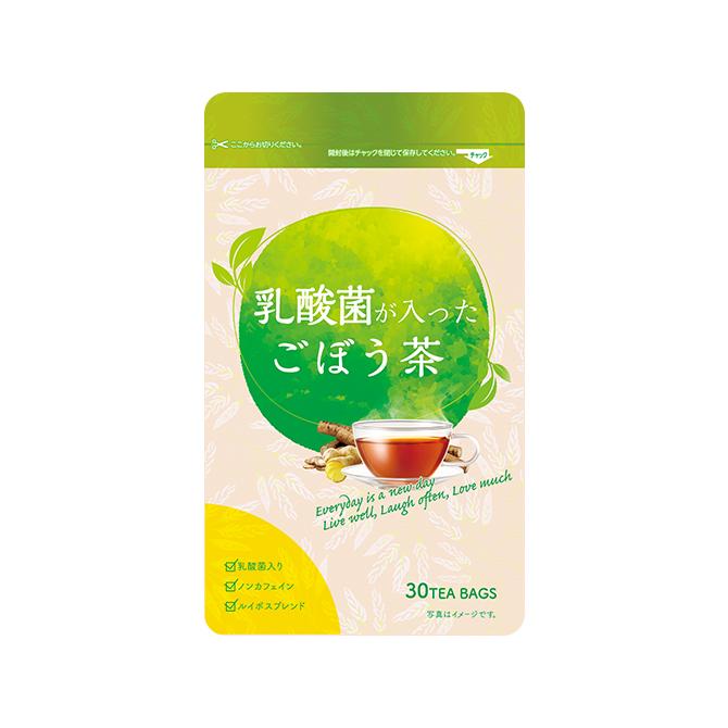 乳酸菌が入ったごぼう茶