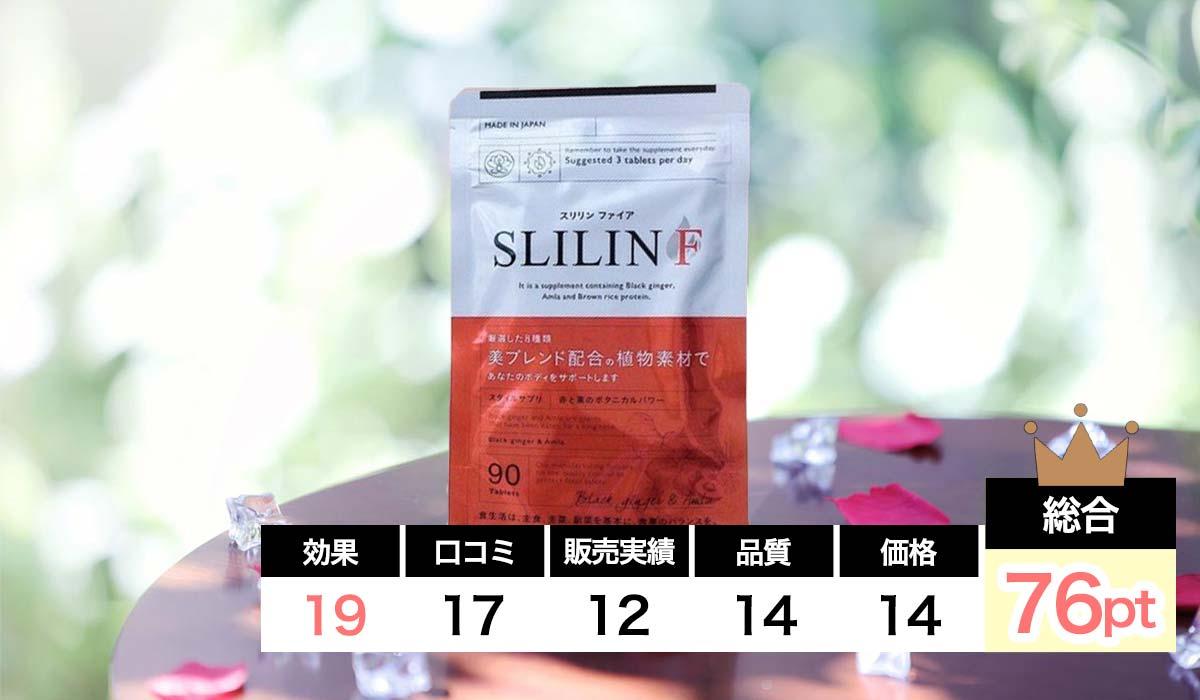 SLILIN Fの項目別の評価