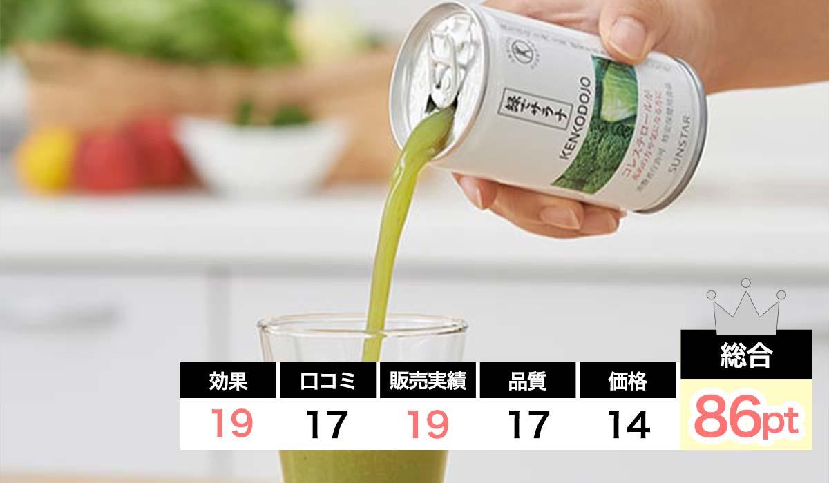 緑でサラナコレステロール対策サプリ