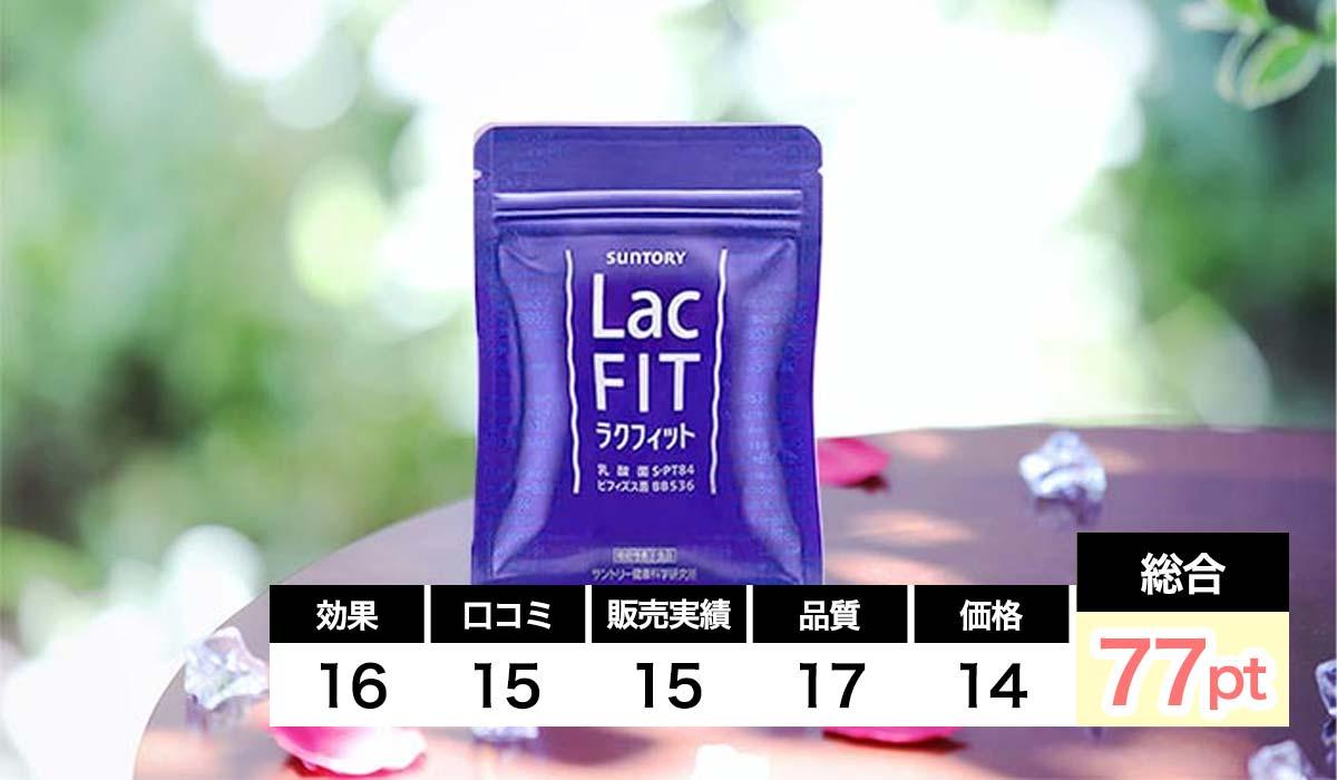ラクフィット内臓脂肪対策サプリ