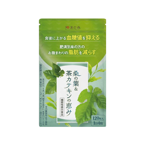 桑の葉&茶カテキンの恵み